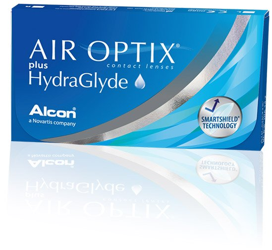 AIR OPTIX® plus HydraGlyde® Contact Lenses